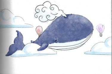 Whale by Lun-de