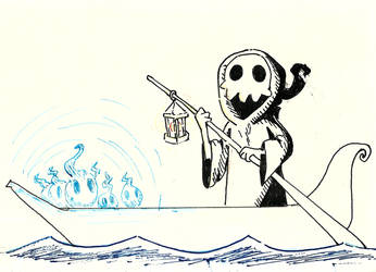 Inktober Death by Lun-de