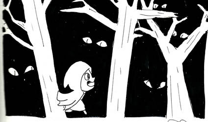 A walk through the woods by Lun-de
