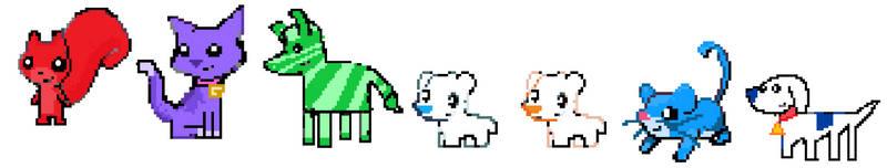 Iconicles (pokemon) sprites 1 by Aquanity505
