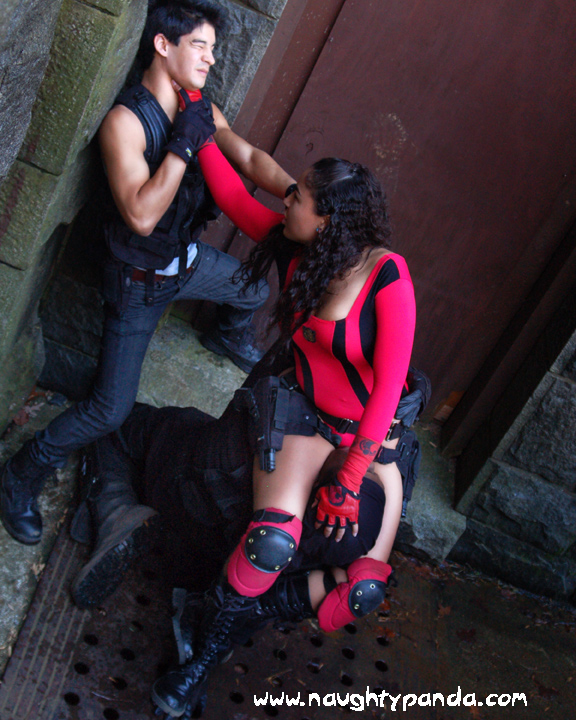 Nina Blade vs Jin and Dutch 2 by LastDarkNight