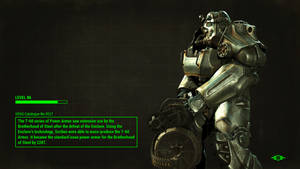 Fallout 4 T-60 Power Armor with correct lore