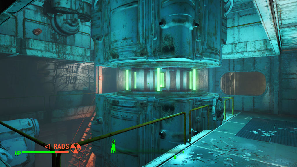 Fallout 4 Powering up Yanftze's reactor by SPARTAN22294