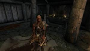 SKYRIM Valdr's Lucky Dagger