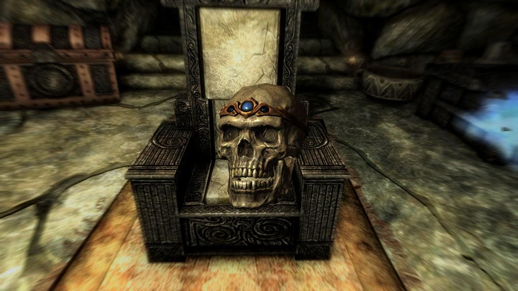 SKYRIM Potema's Skull by SPARTAN22294 on DeviantArt