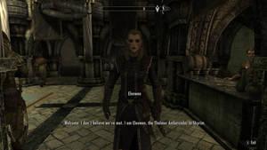 SKYRIM Elenwen, the Thalmor Ambassador to Skyrim