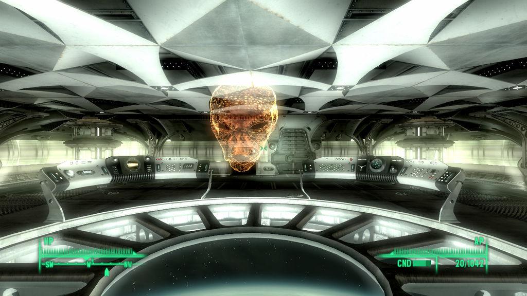 Fallout 3 The Alien Captain