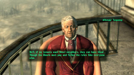 Fallout 3 Tenpenny is letting Ghouls in the Tower by SPARTAN22294