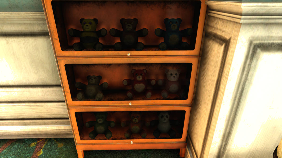 Fallout 76 Most Of The Teddy Bears By Spartan22294 On Deviantart