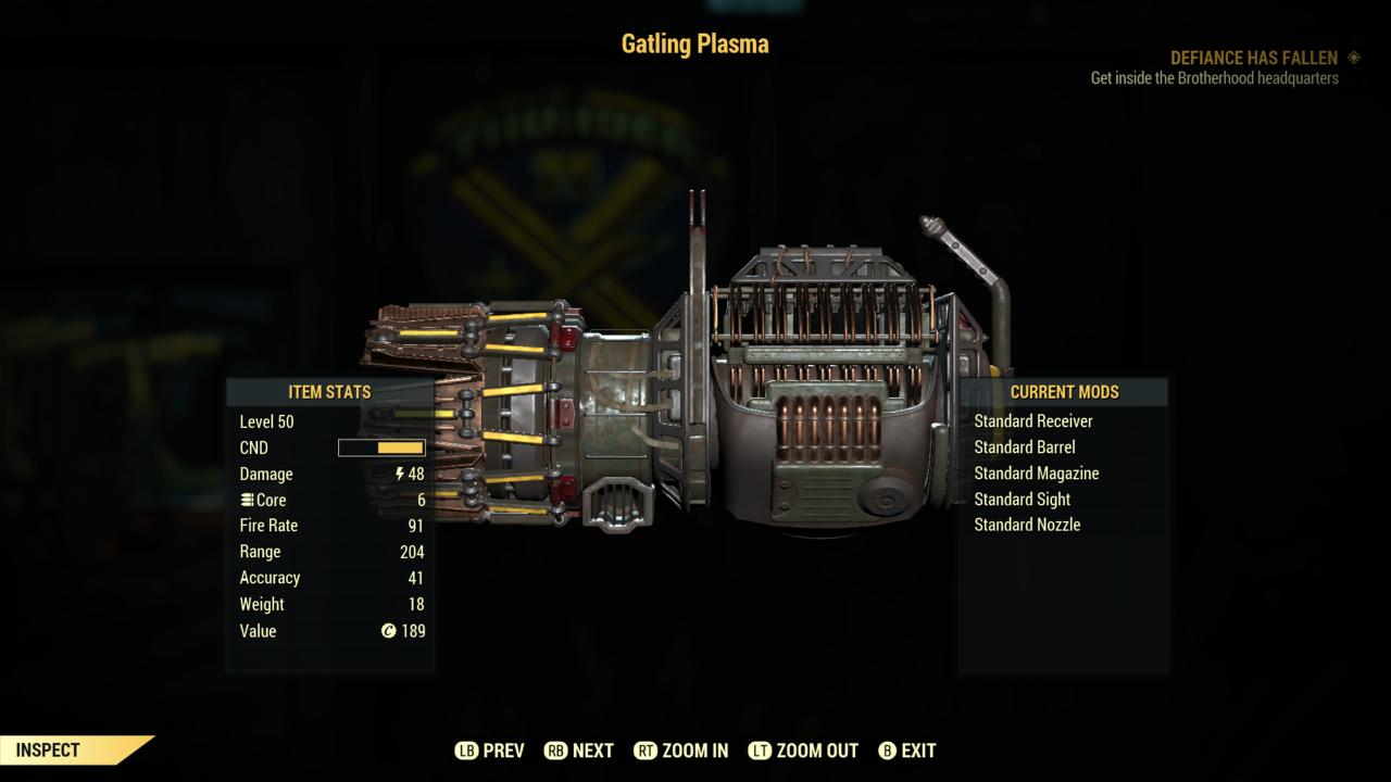 Fallout 76 Gatling Plasma by SPARTAN22294 on DeviantArt