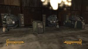 Fallout NV Nellis Air Force Base Flight Simulators by SPARTAN22294