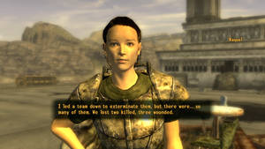 Fallout NV Helping Raquel with their bug problem by SPARTAN22294