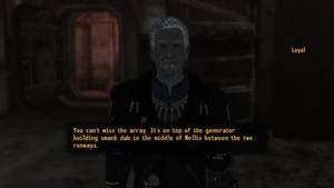 Fallout NV Loyal, the Chief Mechanic by SPARTAN22294