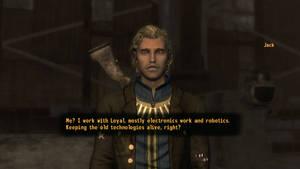 Fallout NV Jack, apprentice Mechanic by SPARTAN22294