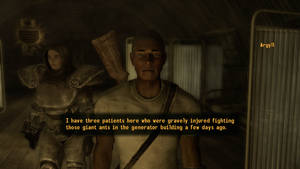 Fallout NV Argyll, doctor of the Boomers by SPARTAN22294