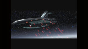 SW KotOR The Leviathan open fire on Taris