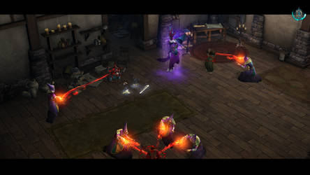 Diablo III The Dark Coven capture Cain and Leah by SPARTAN22294
