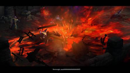 Diablo III Leah's power is unleash by SPARTAN22294