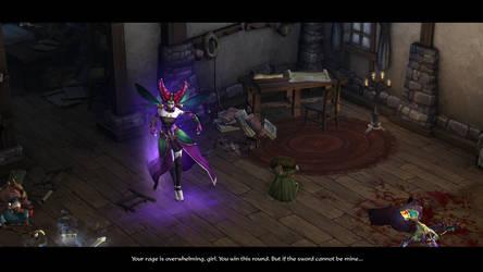 Diablo III Maghda Kidnaps The Stranger by SPARTAN22294