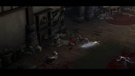 Diablo III The death of Deckard Cain by SPARTAN22294