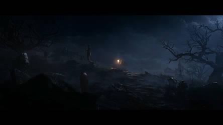 Diablo III The Funeral of Deckard Cain by SPARTAN22294