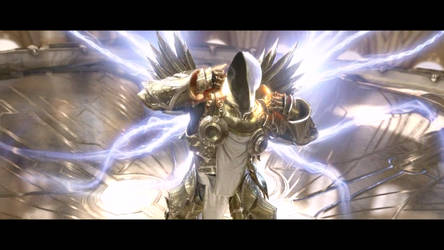 Diablo III Tyrael's Sacrifice by SPARTAN22294