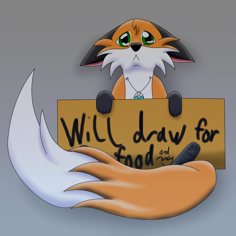Commissions Open: Foxy Chibi Special