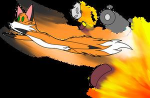 Foxy Chibi: Turbo Dismount