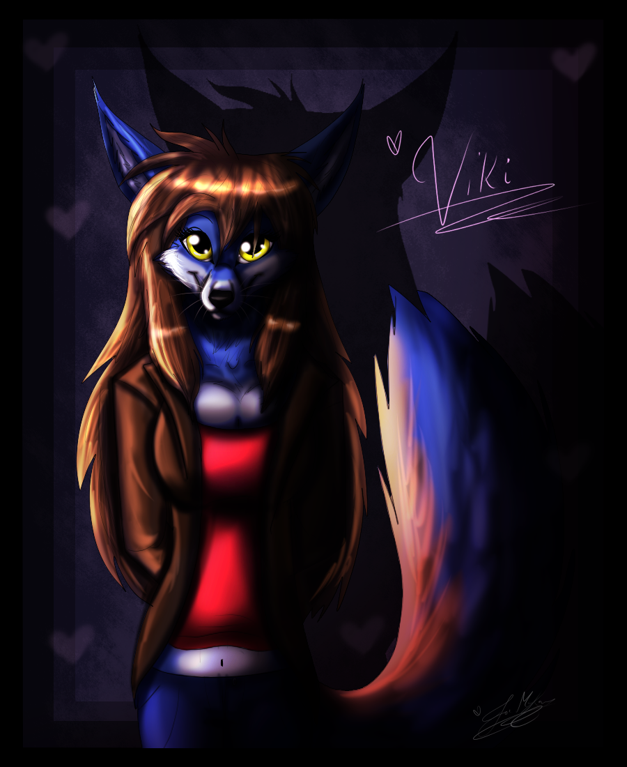 AT: Viki the Fox by XxAnthro16xX