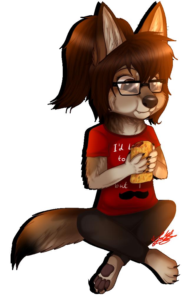 Leti as a Mexican Wolf .:Chibi:. by ScottishRedWolf