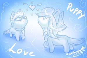 Loxie: Puppy Love~ by ScottishRedWolf