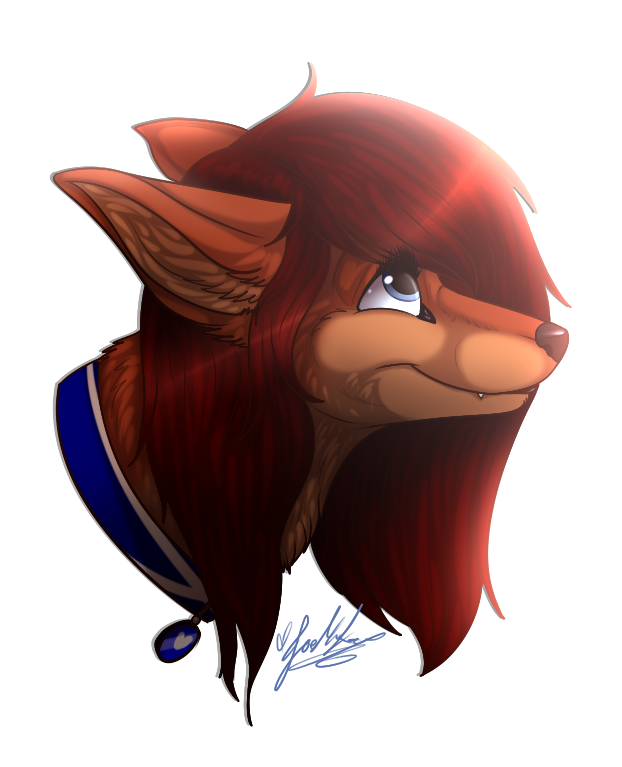 .:Headshot:. Zoe~ by ScottishRedWolf