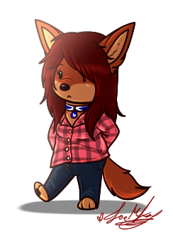 Simple Chibi Zoe .:Doodle:. by ScottishRedWolf