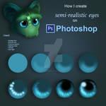 How I Create Semi-Realistic Eyes