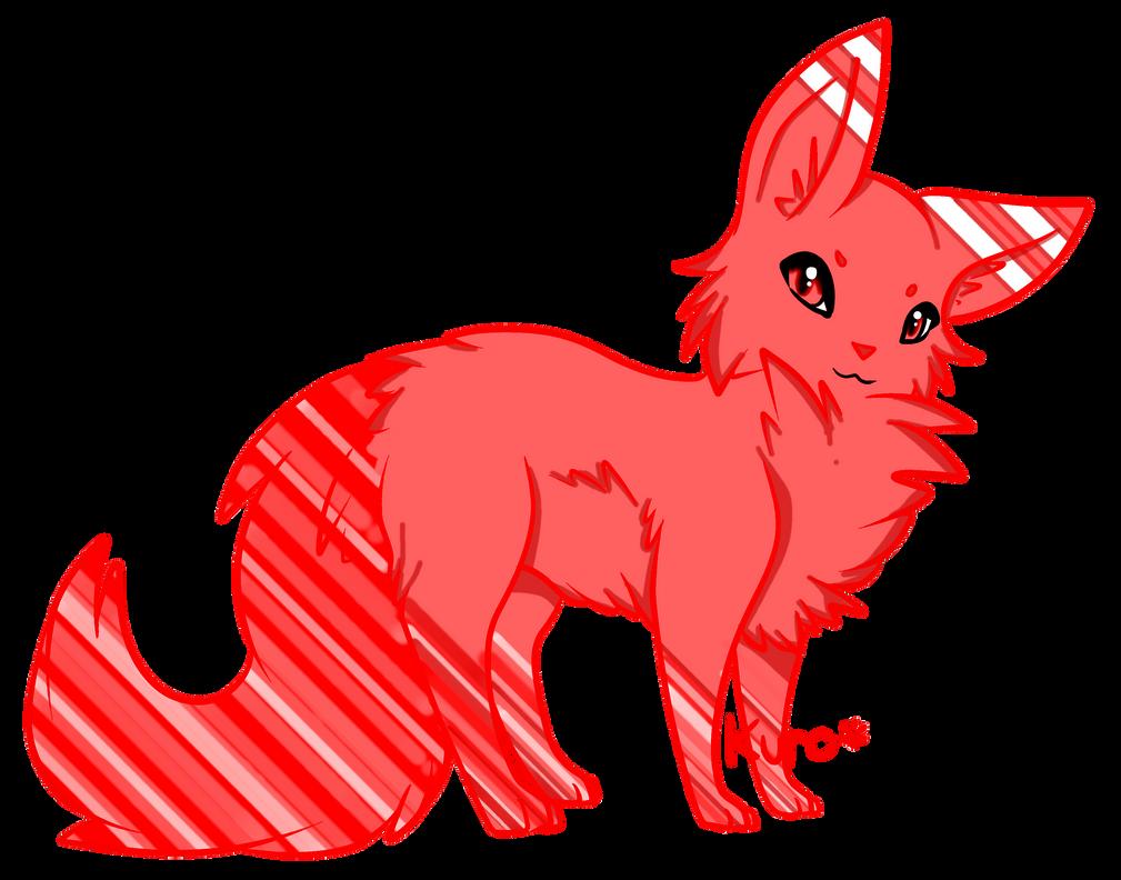 Strawberry Cream Fluff cat [OPEN] by Dark-Angel-Rin