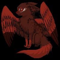 Devils food cake pixel doll by Dark-Angel-Rin