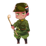 hetalia South Africa chibi