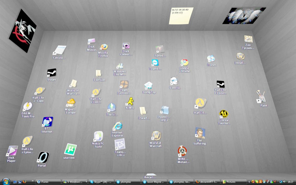 Awesome new desktop