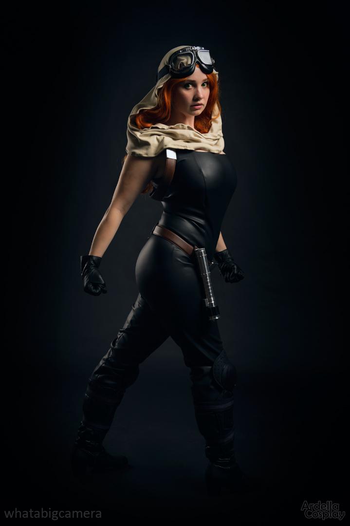Mara jade (star wars) by ardella cosplay