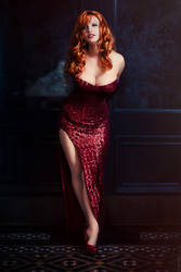A Pillar of Strength - Jessica Rabbit by Ardella