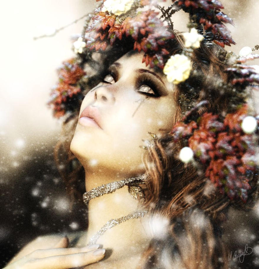 Winter Tears by Saidge42