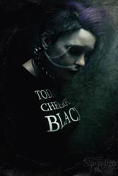 cheerful black by Saidge42