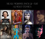 vArtic3D Promo Collection - Head Morphs G8F Pack 2