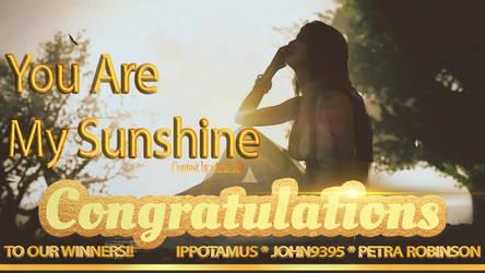 Sunshine Winners!