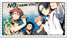 No, Thank You!!! Stamp by yaoilover321
