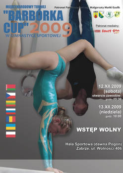 Barborka Cup 2009: Poster