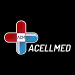 Logotypes: Acellmed (White)