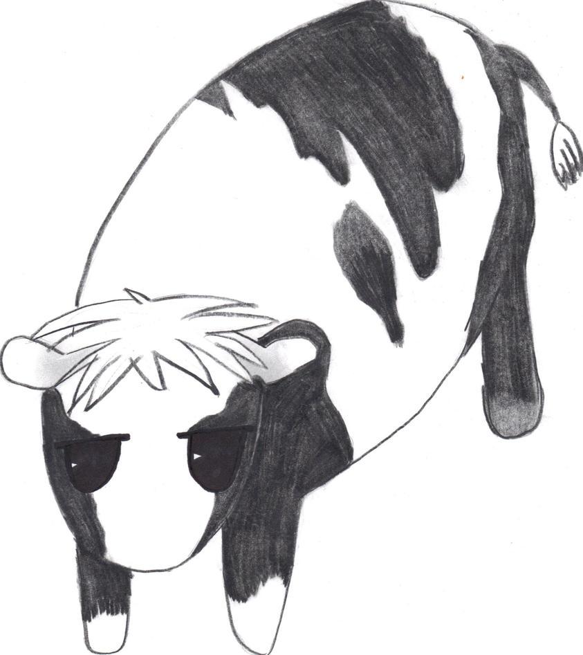 Hatsuharu is Such a Cow by pie1313 on deviantART