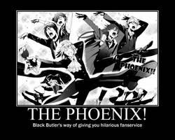 Black Butler THE PHOENIX by pie1313