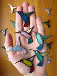 Handful of Birds by Morinoska